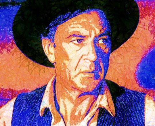 Gary Cooper by JLB